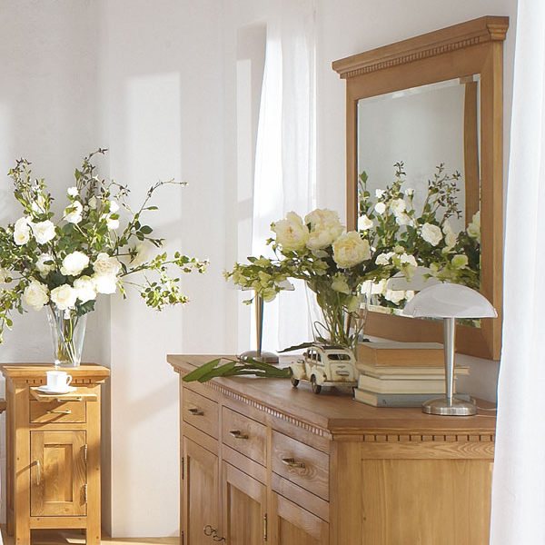Wandspiegel Holz Kiefermöbel