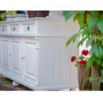 Sideboard in Weiß Landhausmöbel