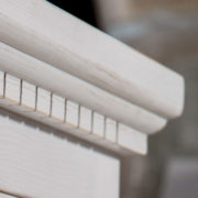 Weiße Schränke im Shabby Chic Stil