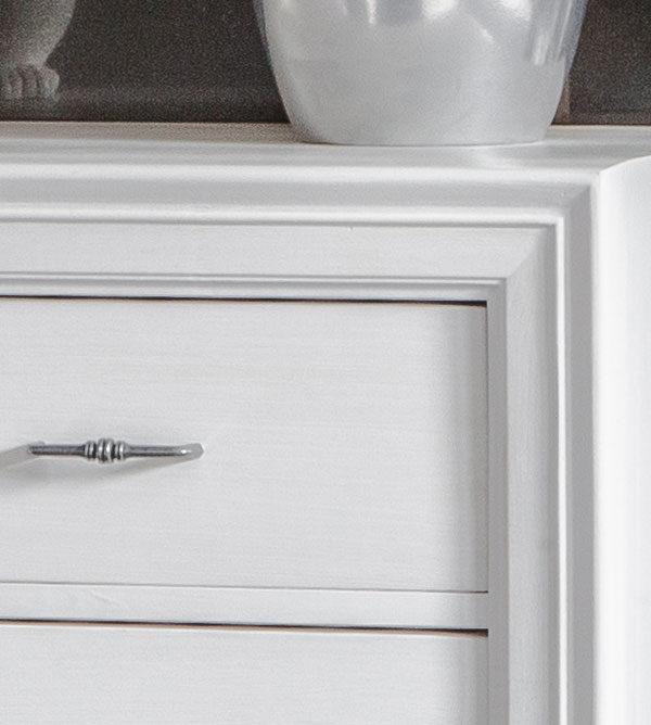 Schrank 2-türig mit 2 Schubladen modern collection - MASSIV AUS HOLZ