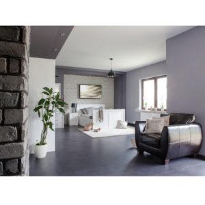 Weißes Schlafzimmer aus massivem Kiefernholz