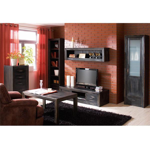 Wohnzimmer Massivholzmöbel Regale