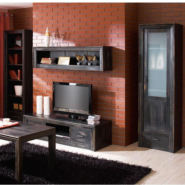 Wohnzimmermöbel massiv Holz Kiefer