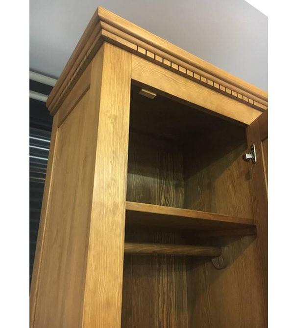 1-türiger Schrank aus massivem Holz Kiefer