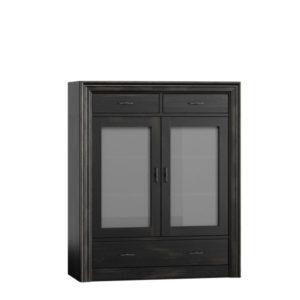 Sideboard mit Glastüren und Schubladen