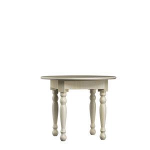 Ovaler Tisch Vedene 100 cm Durchmesser