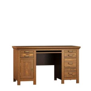 Schreibtisch klein Massivholz Kiefer Möbel