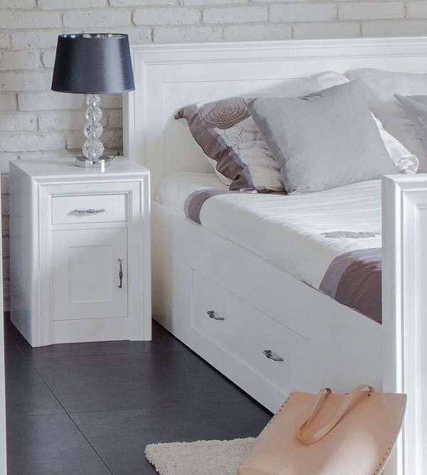 Einzelbett 90x200 cm modern lattenrost 2 schubladen for Einzelbett modern