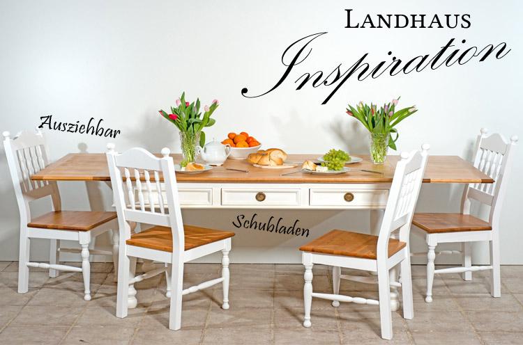 Großer Ausziehtisch 350 cm - ausziehbar für Küche, Esszimmer