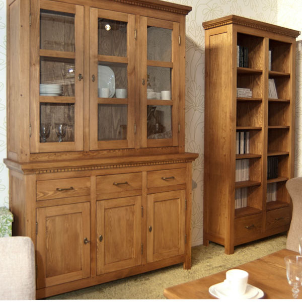 esszimmerschrank klein klassisch 3 t rig 3 schubladen massiv aus holz. Black Bedroom Furniture Sets. Home Design Ideas