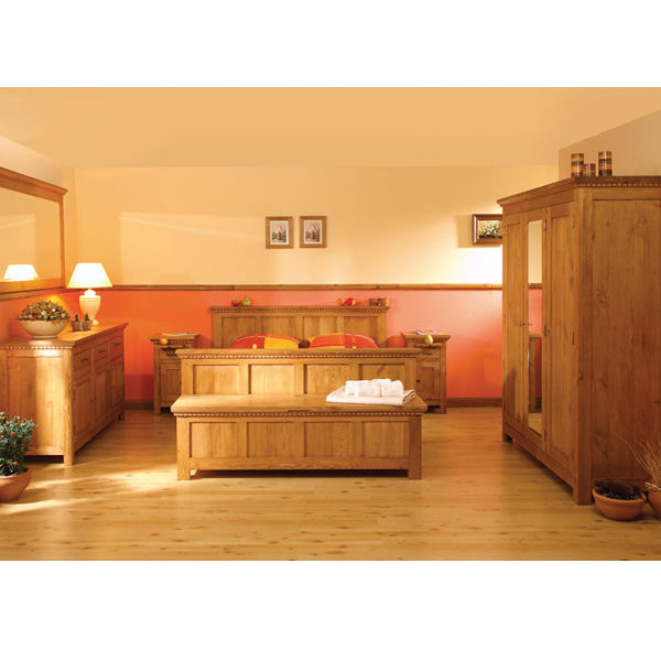 Echtholzmöbel Schlafzimmer Naturbelassen