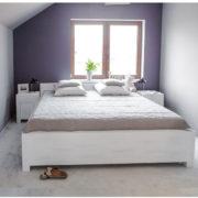 Einzelbett 100x200 cm Massivholzbet