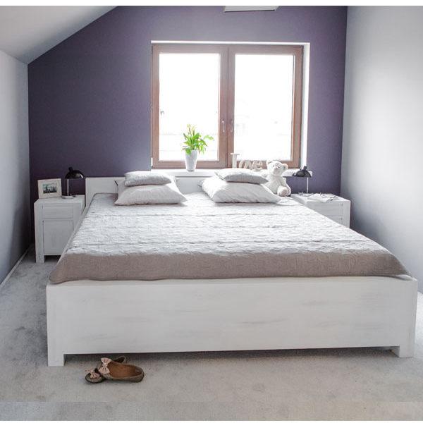 einzelbett 100x200 cm schlicht lattenrost 2 schubladen optional massiv aus holz. Black Bedroom Furniture Sets. Home Design Ideas