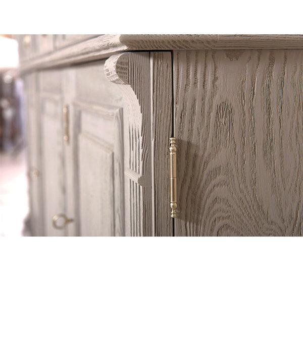 Graue Möbel gebürstet & gewischt im Shabby Chic Stil