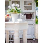 Konsolentisch Landhaustisch in Weiß