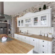 Küchenschränke im Landhausstil Weiß