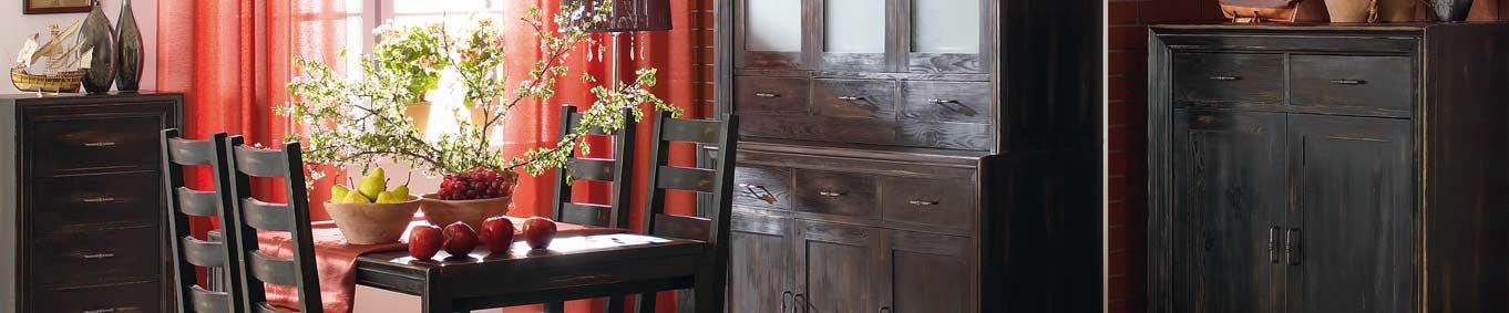 Massivholzmöbel modern  Massivholzmöbel in Schwarz modern - MASSIV AUS HOLZ