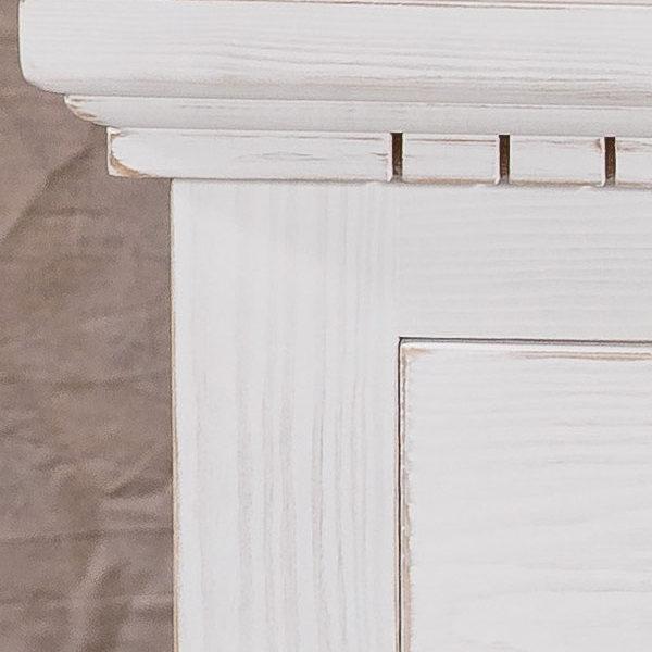 Shabby Chic Stil Schrank in Weiß