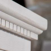 Weiße Schränke im Shabby Chic Stil gewischt