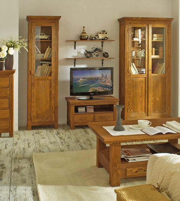 vitrine mit glast r klein klassisch massiv aus holz. Black Bedroom Furniture Sets. Home Design Ideas