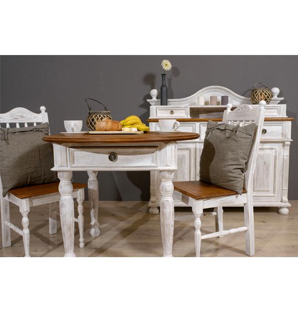 Runder Tisch für Küche