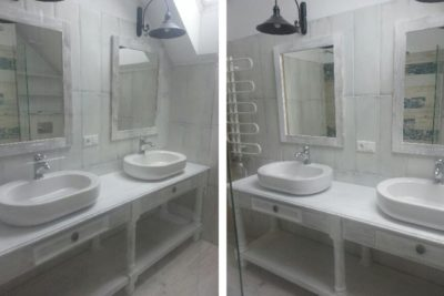 Waschbeckenunterschrank – 100% Inspiration aus Vollholz
