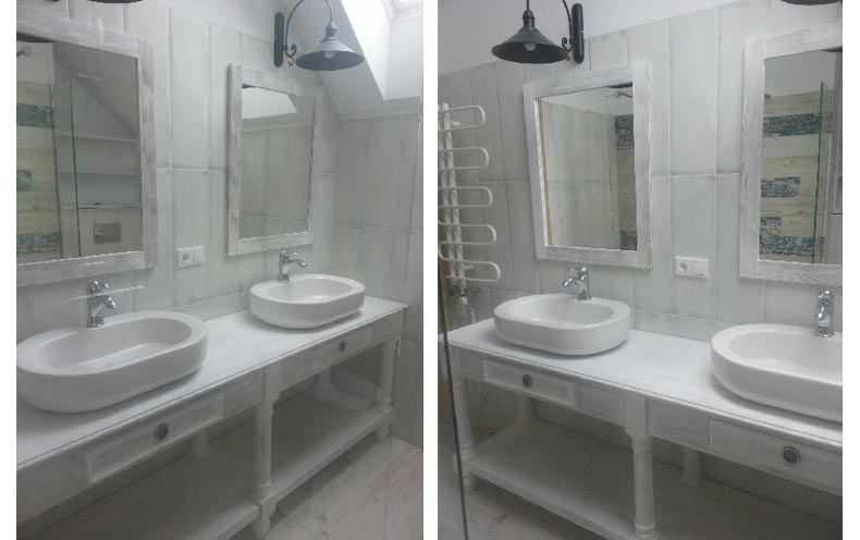 weisse badmobel, weiße badmöbel kategorie - massiv aus holz, Design ideen