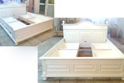 Wunschbett – Bett mit niedrigem Fußteil