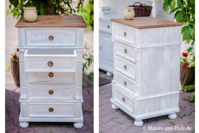 2-farbige Möbel – flott und frisch zu Hause