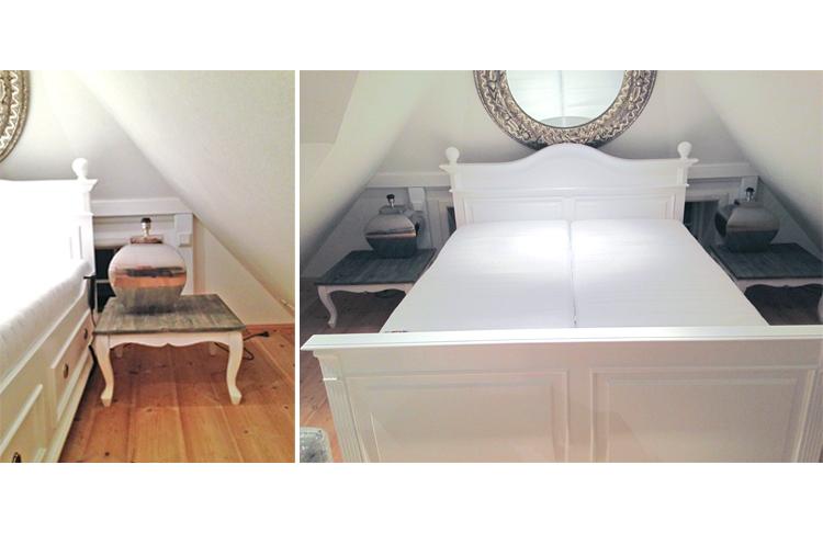 Komfortbett mit Einstiegshilfe