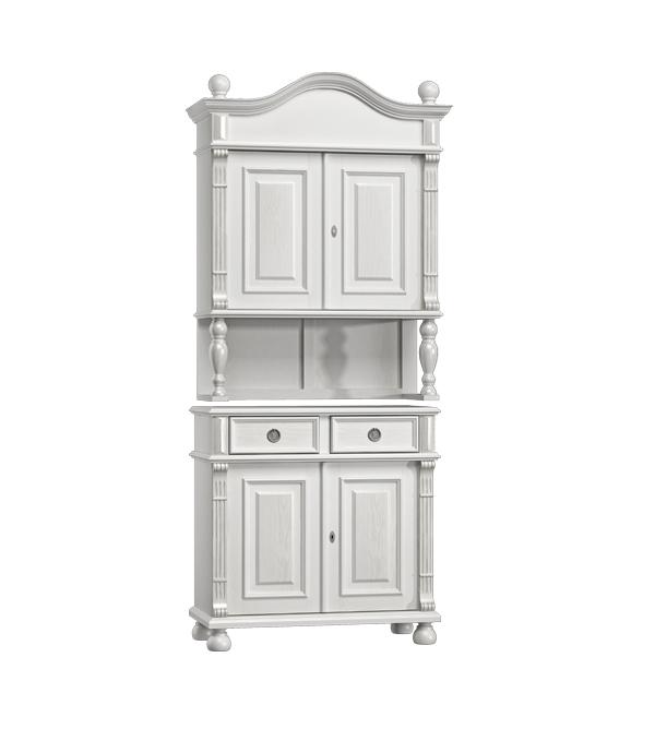 landhaus k chenbuffet klein 2 t rig 2 schubladen massiv aus holz. Black Bedroom Furniture Sets. Home Design Ideas