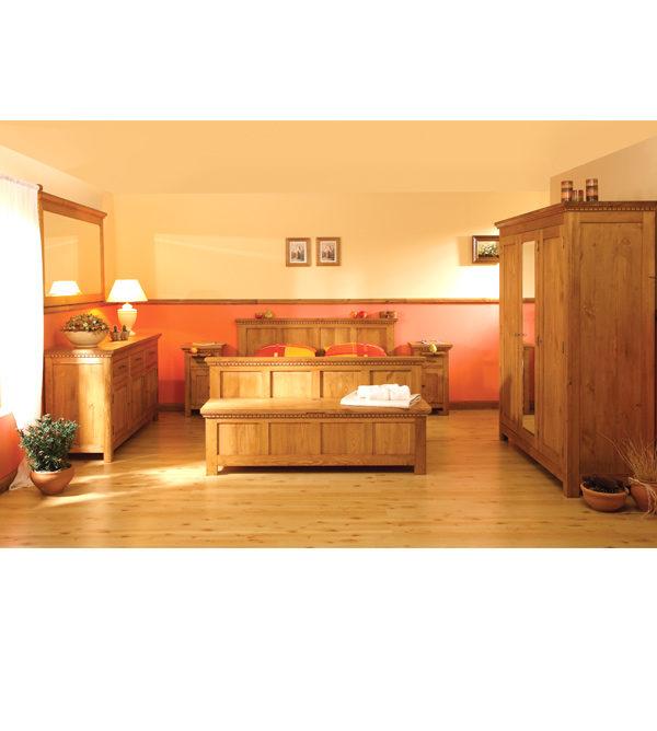 Massivholz Nachttisch