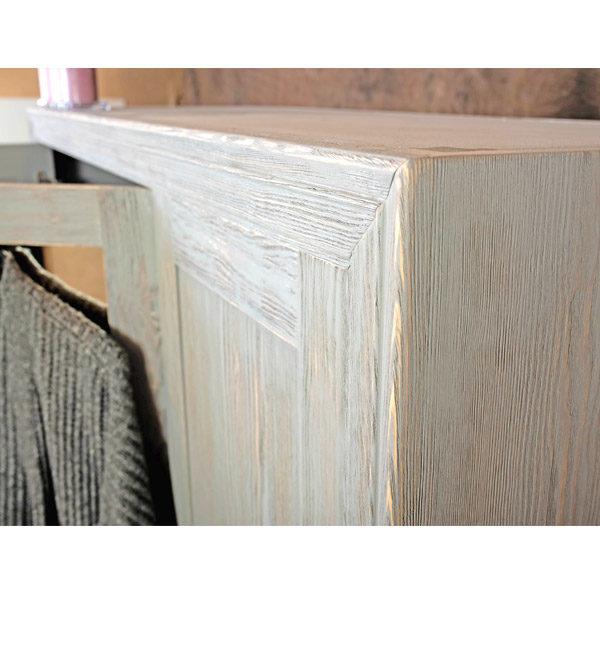 Graue Farbe für Massivholzmöbel