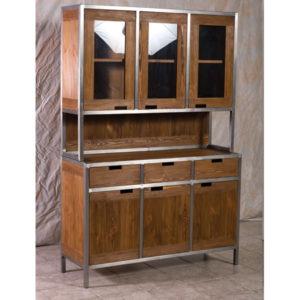sideboard im industriedesign 3 t rig 3 schubladen massiv. Black Bedroom Furniture Sets. Home Design Ideas