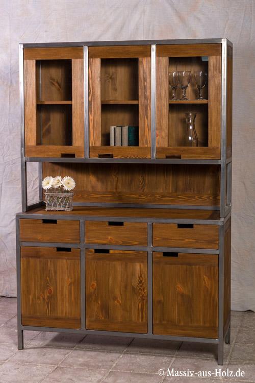Metall holz möbel  Möbel im Industriedesign – ein Look aus Holz & Metall - MASSIV AUS ...