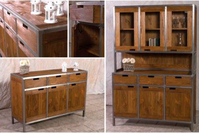 Möbel im Industriedesign – ein Look aus Holz & Metall