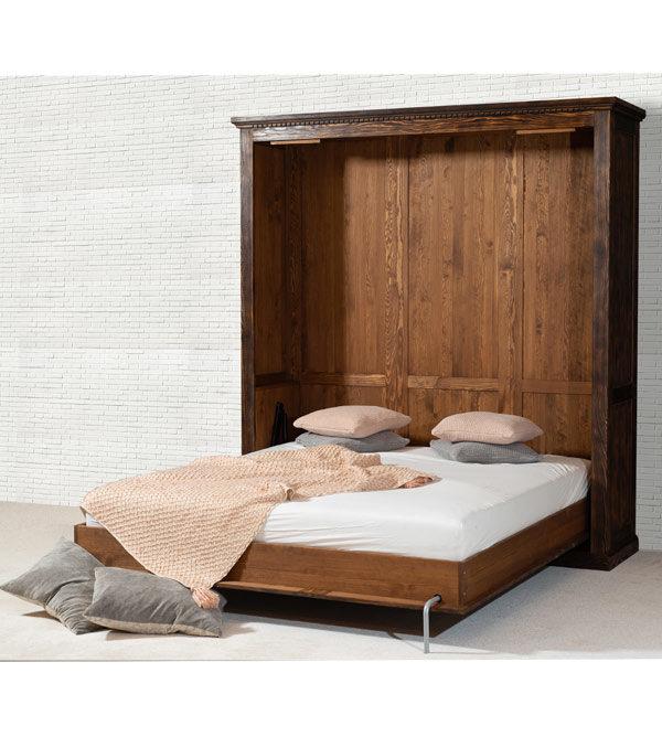 Schrankbetten aus Holz
