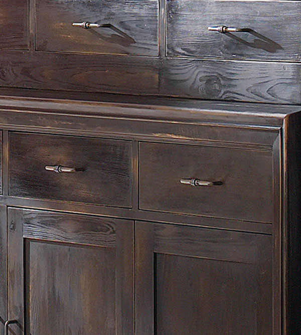 esszimmer schrank klein mit 6 schubladen massiv aus holz. Black Bedroom Furniture Sets. Home Design Ideas