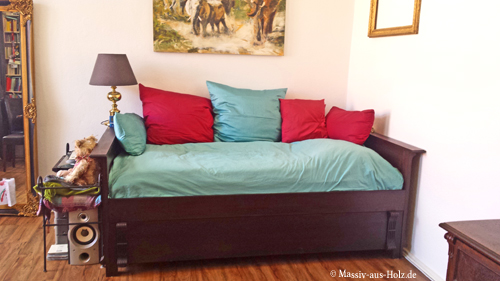 Bett mit unterbett full size of einzelbett mit unterbett for Ikea rollkiste