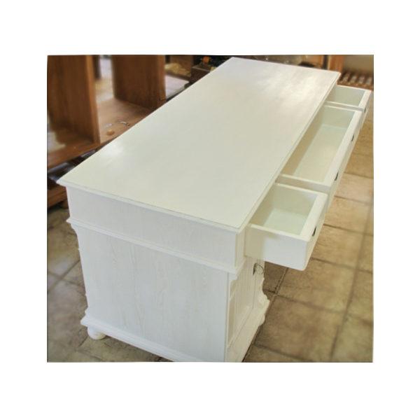 Landhaus Schreibtisch mit Schubladen