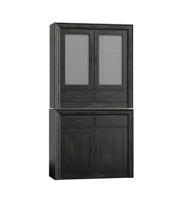 esszimmer schrank klein 2 t rig 4 schubladen massiv aus holz. Black Bedroom Furniture Sets. Home Design Ideas