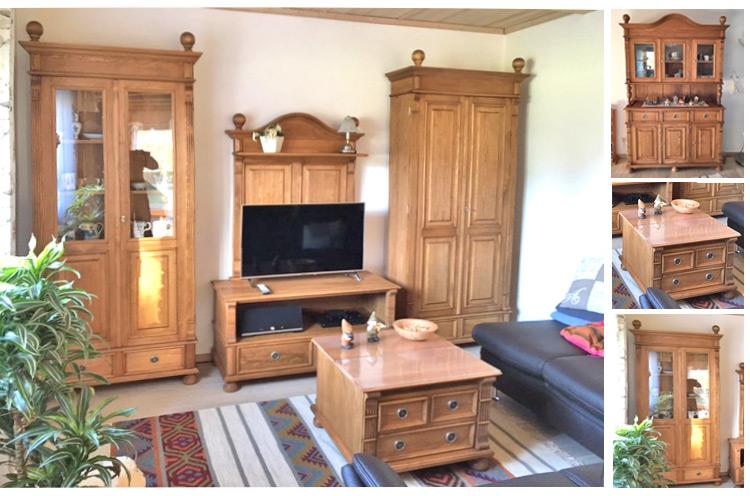 gutes liegt oft so nah klassische landhausm bel gewachst massiv aus holz. Black Bedroom Furniture Sets. Home Design Ideas
