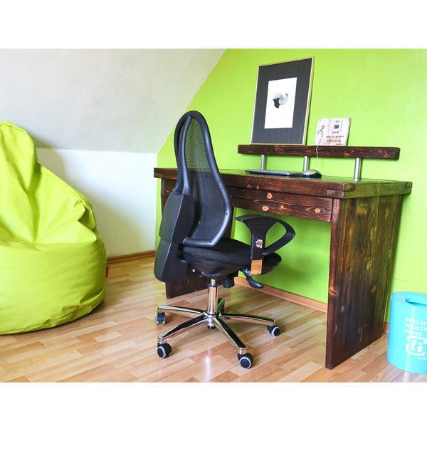 Massivholz Schreibtisch aus Kiefer