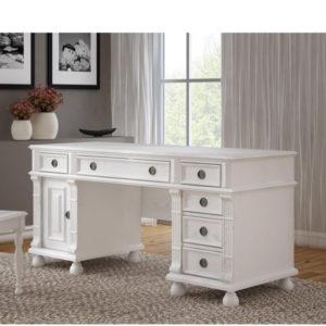 Schreibtisch im Landhausstil mit Schubladen