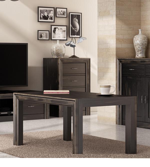 couchtisch schlicht modern massiv aus holz. Black Bedroom Furniture Sets. Home Design Ideas