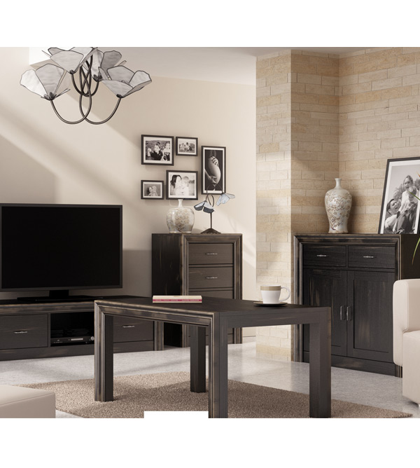 couchtisch schlicht modern massiv aus holz. Black Bedroom Furniture Sets. Home Design Ideas