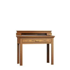 Sekretär mit Schublade klein aus massivem Holz