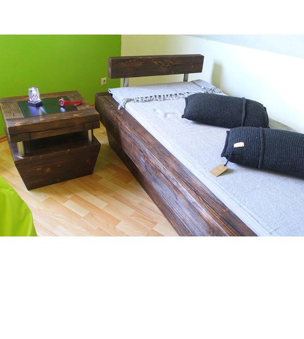 Möbel aus Balken - Balkenholz für Betten