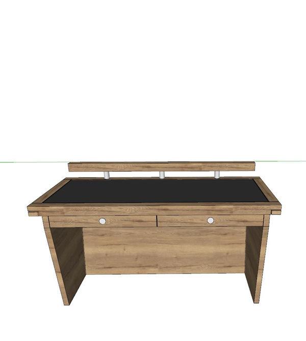 Schreibtisch im Urban Look