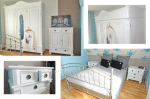 Weißes Schlafzimmer Mit Gemütlichkeit